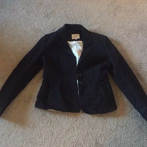 Black LOFT blazer/jacket